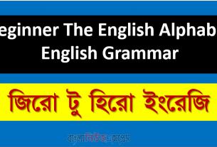 Beginner The English Alphabet | English Grammar