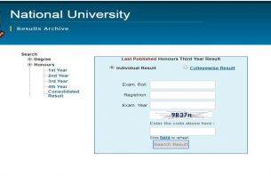 Publish Honors 3rd Year Results 2020