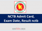NCTB Admit Card, Exam Date, Result