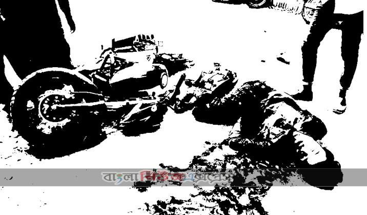 খানসামায় ট্রাক্টর চাপায় মোটরসাইকেল আরোহী এক যুবকের মৃত্যু
