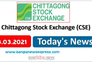 03.03.21 News Chittagong Stock Exchange (CSE)