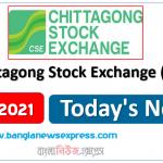 CSE News 05/05/21 Chittagong Stock Exchange