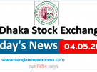 04.05.2021 Today's News Dhaka Stock Exchange (DSE)